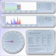 Graphique et statistique météorologique de l`année en cours castillon-massas
